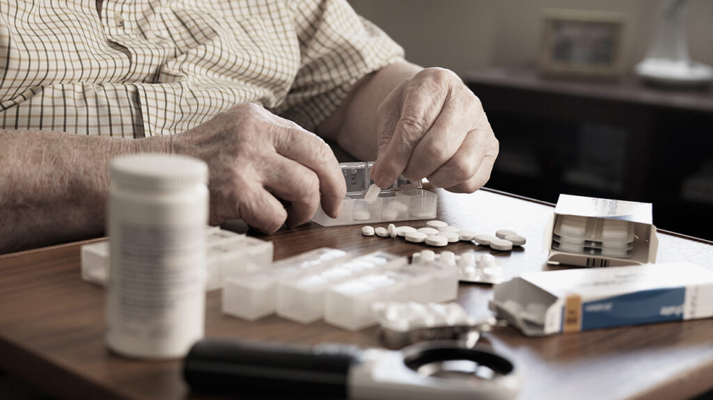 Person with medication covered by Medicare Part D plan