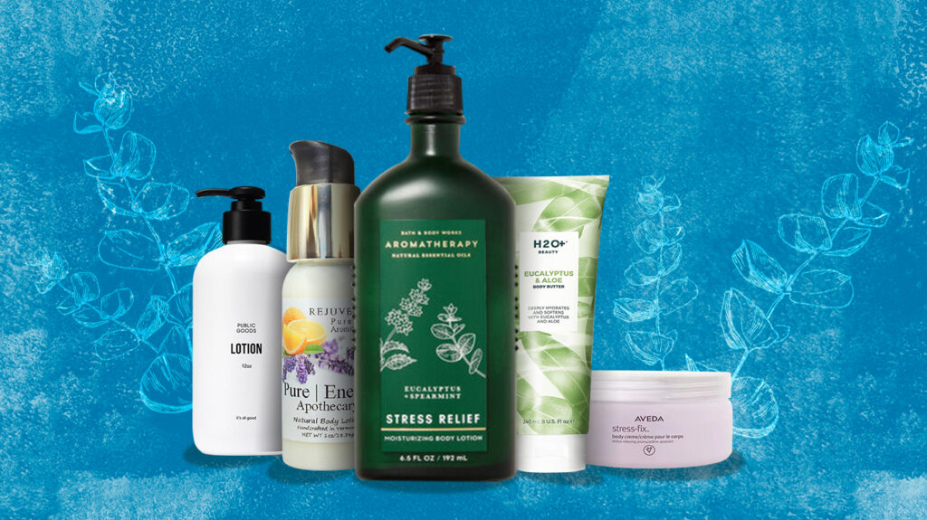 the best stress relief lotions
