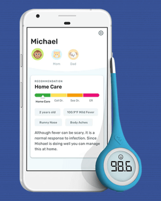 Kinsa QuickCare infant  Baby Thermometer