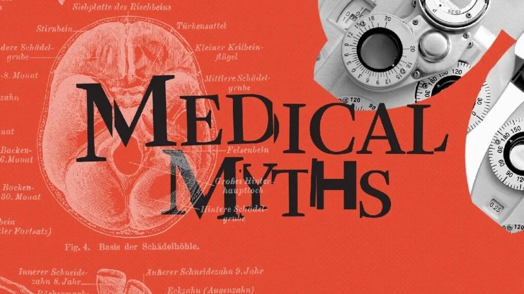 医疗神话标志红色
