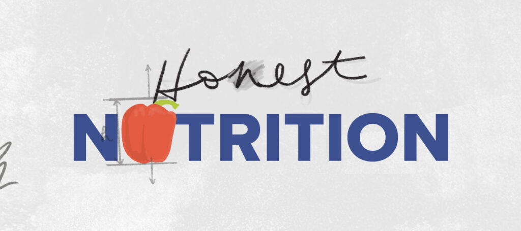 Honest Nutrition logo with red pepper
