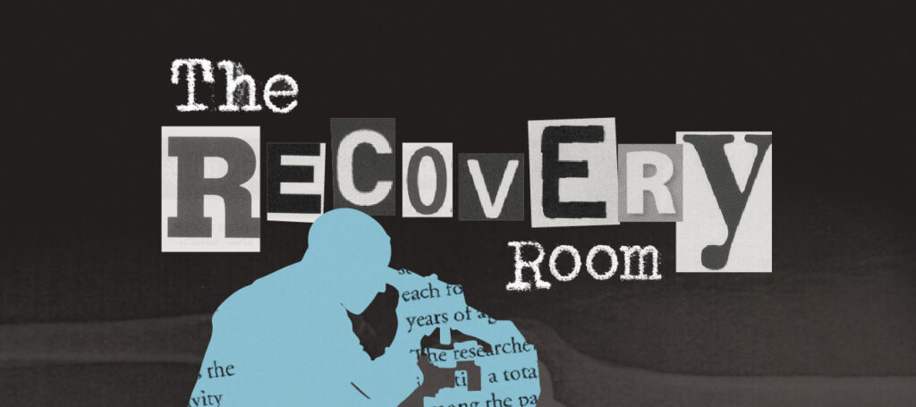 Recovery Room scientist header