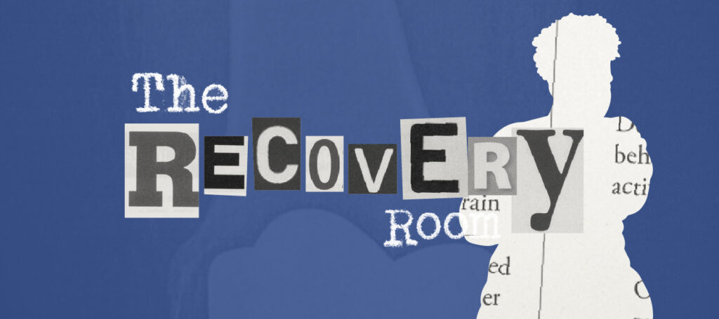 The Recovery Room blue header 14