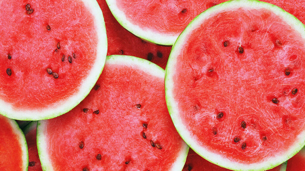 Is watermelon keto? A close-up of watermelons which can be consumed as part of a keto diet