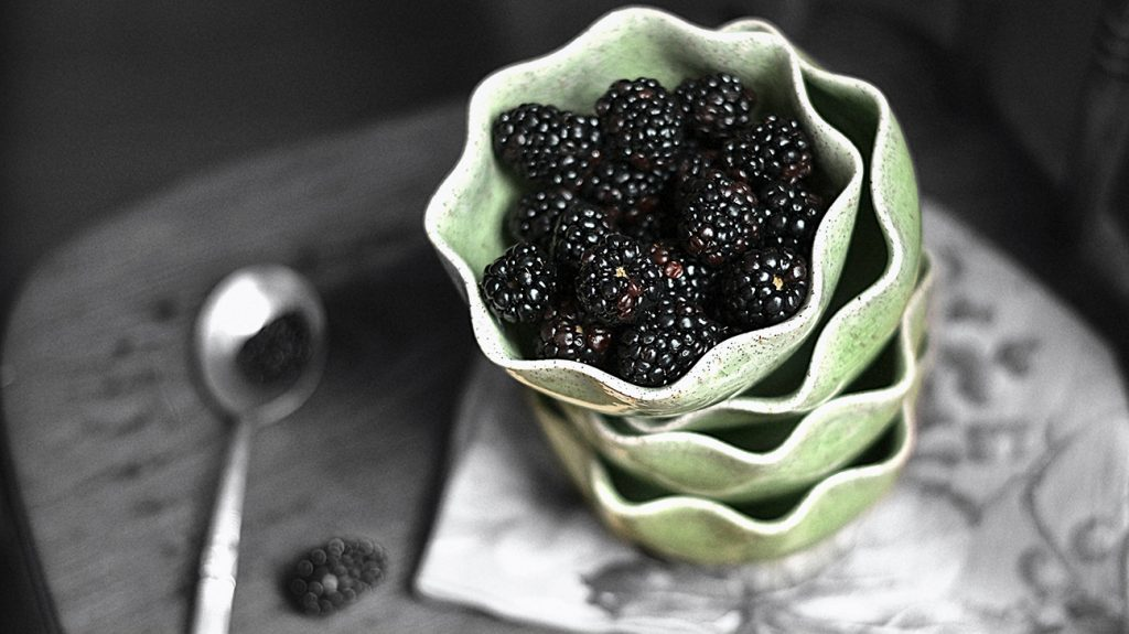 Is too much fruit bad for you depends on the fruit, but generally, blackberries pictured here are a good low-sugar choice