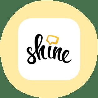 Logo de l'application Shine