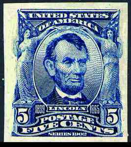US Postage Stamp from 1900s