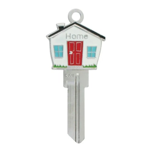 3D House shaped key