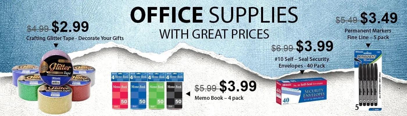 Office Supplies Slide