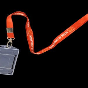 ID Badge with Holder - Vertical