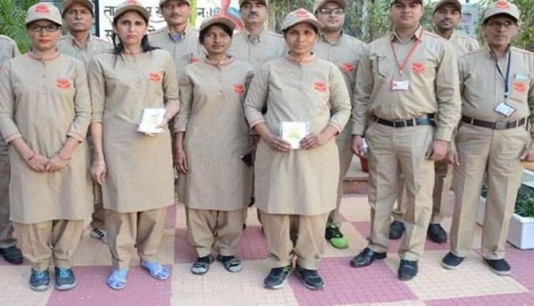 postman staff in full dress