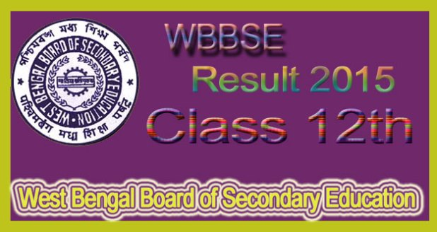WBBSE- Board class 12th result 2015