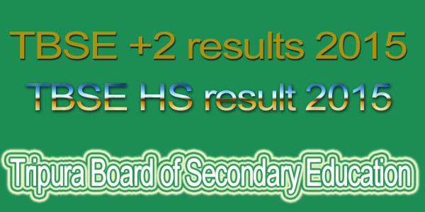 TBSE HS result 2015
