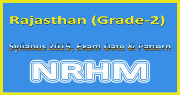 Rajasthan staff nurse grade 2 syllabus 2015