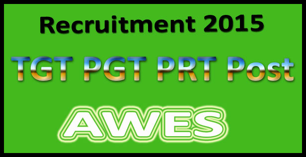 AWES recruitment of teachers 2015