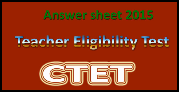 CTET answer key feb 2016