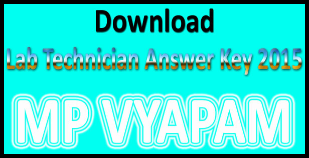 MP lab technician answer key 2015