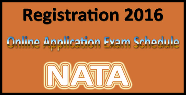 NATA notification 2016