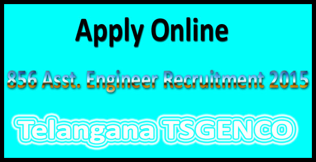 TSGENCO AE Recruitment 2015