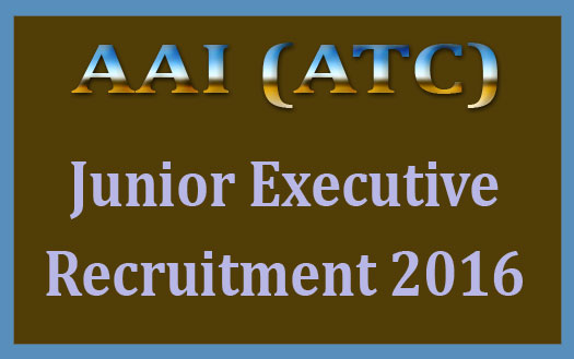AAI ATC recruitment 2016
