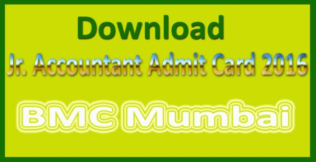 BMC admit card 2016