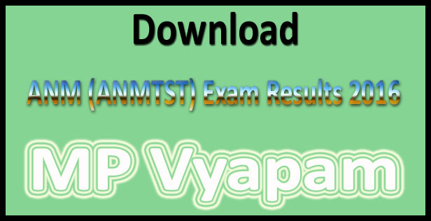 MP ANM result 2016