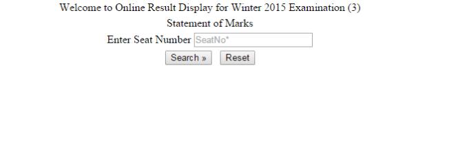 MSBTE winter 2015 result