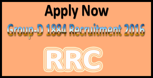 RRC group d recruitment 2016