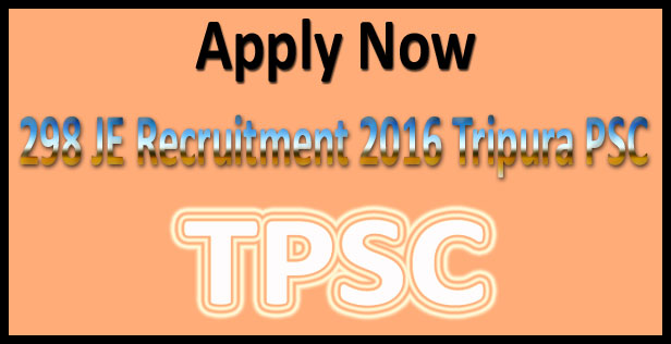 TPSC Je recruitment 2016