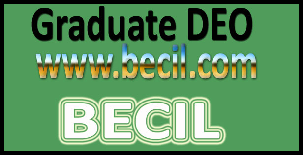 BECIL admit card 2016
