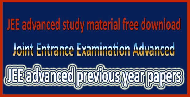 JEE-advanced-previous-year-papers