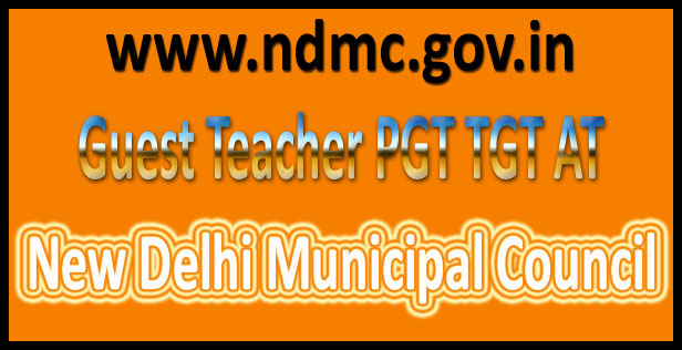 NDMC teacher recruitment 2016