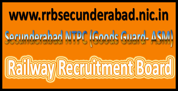 RRB Secunderabad admit card 2016