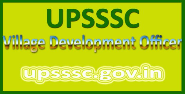 UPSSSC VDO answer key 2016