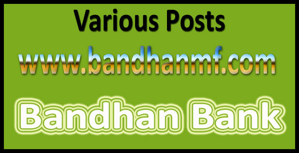 Bandhan bank exam date 2016