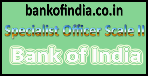 Bank of India SO admit card 2016