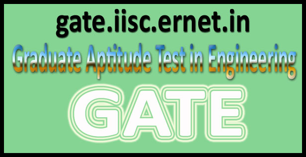 Gate Results: GATE {Score~Card} Results 2016 @ Gate.iisc.ernet.in Check