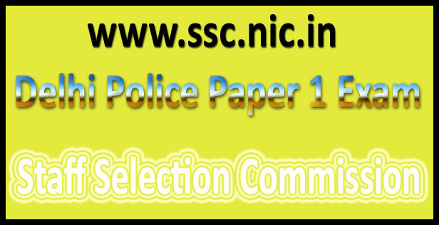SSC CPO answer key 2016