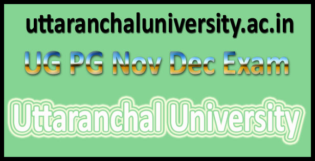 Uttaranchal university result 2016