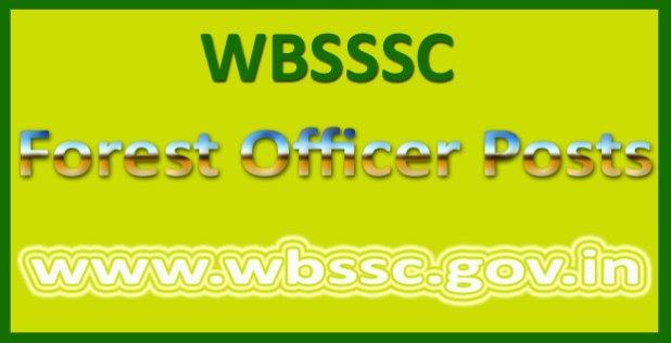 WBSSC forest ranger answer key 2016