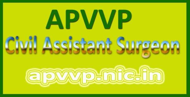 APVVP Assistant Surgeon Admit Card 2016