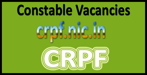 CRPF constable syllabus 2017