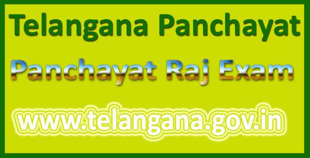 TS Panchayati Raj syllabus 2016