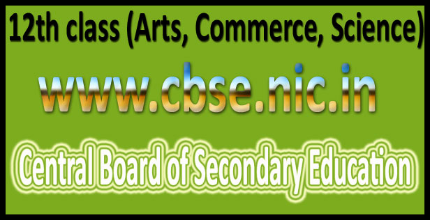 CBSE 12 Results 2016
