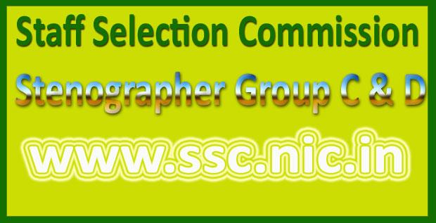 SSC Stenographer Recruitment 2016