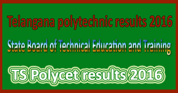 TS Polycet Results 2016