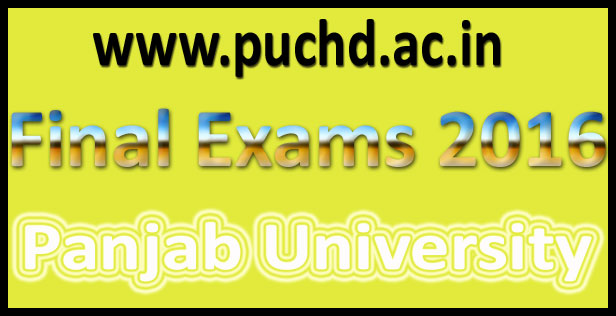 Panjab University Result 2016