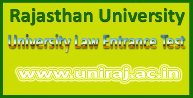 Rajasthan ULET Result 2016