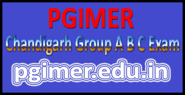PGI Chandigarh admit card 2016