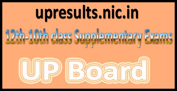 UP board supplementary Result 2016